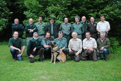 boswachters Zonienwoud - gardes forestier Foret de Soignes