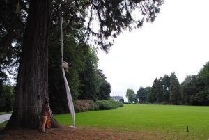 Arbre mon abri / Van boom tot boom on the 16th of september in the Solvay Domain © Stefanie Holvoet